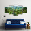 Blue Mountains of Jamaica Multi panel canvas wall art