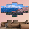 Pre Dawn image of Pikes Peak Mountain and Garden of the Gods wall art