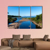 Beautiful Scottish Lake in the Highlands Multi panel canvas wall art