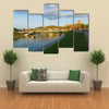 Vilnius, The Historic Center Of Vilnius That Is Attractive For Tourists, Lithuania, Multi Panel Canvas Wall Art