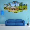 Botanical garden in Cayenne capital of French Guiana Multi panel canvas wall art