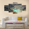 Crater lake of Santa Ana volcano, El Salvador Multi Panel Canvas Wall Art