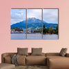 Mount Pilatus in Lucerne, Switzerland. Summer, Lake Lucerne wall art