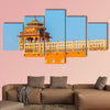 Architectural Detail on the Hawa Mahal multi panel canvas wall art