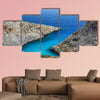 Seitan limania or Stefanou beach, Crete multi panel canvas wall art
