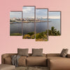 Skyline of Havana, Cuba multi panel canvas wall art