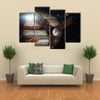 Juno Spacecraft And Jupiter Multi Panel Wall Art