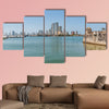 Skyline of the city Cartagena, Colombia multi panel canvas wall art