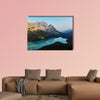 Peyto Lake in Banff National Park, Canada Multi panel canvas wall art