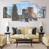 Castle Olavinlinna (Olofsborg) Multi panel canvas wall art
