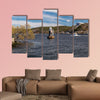 Lighthouse on Lake Malaren, Sweden multi panel canvas wall art