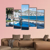 Saranda tourist of the Albanian Riviera in Saranda Albania Multi panel canvas wall art