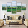 Meadow in summer tieme. 2016 Multi panel canvas wall art