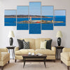 Small island Harmaja (Grahara) in Gulf of Finland Multi panel canvas wall art