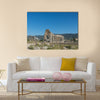 View of the Basilica, in roman town Volubilis, Morocco Multi panel canvas wall art