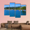 Lake Zurich as seen from the city of Zurich, Mt. Uetliberg canvas wall art