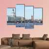 Building of Kunstkamera multi panel canvas wall art