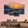 Zaitunay Bay marina in Beirut capital city of Lebanon Middle East multi panel canvas wall art