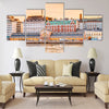 Panorama Of Old Market Hall Vanha kauppahalli Multi panel canvas wall art