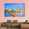 Charleston, South Carolina, USA skyline over the Ashley River wall art