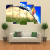 Chad national flag marking furnished by NASA Multi panel canvas wall art