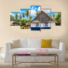 Tabuaeran, Fanning Island, Republic of Kiribati Multi Panel Canvas Wall Art