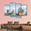 Hamburg, Elbphilharmonie, storage city multi panel canvas wall art