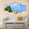 Beautiful View Tabuaeran, Fanning Island, Republic of Kiribati Multi Panel Canvas Wall Art