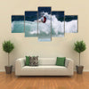 Quinn of New Zealand participates surfest professional surfing competition Multi panel canvas wall art
