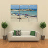 The Seascape Of Karidi Beach Vourvourou At Sithonia peninsula, Chalkidiki, Macedonia, Multi Panel Canvas Wall Art