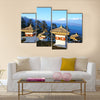 Chorten stupas  the memorial in honour of the Bhutan Multi panel canvas wall art