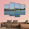 Luxury Hilton Hotel next to the Rhine German multi panel canvas wall art