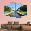 Rideau Canal Locks in Ottawa Ontario Canada Multi panel canvas wall art