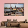 View of Stockholm multi panel canvas wall art