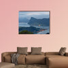 View of Lake Lucerne in Switzerland multi panel canvas wall art