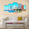 The Netherlands, the World Port Center buildings Multi panel canvas wall art