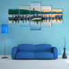 The Scenery Of Hangzhou West Lake Multi Panel Canvas Wall Art