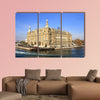 Haydarpasa station building in Istanbul multi panel canvas wall art