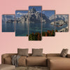 Mountain Lake Multi panel canvas wall art