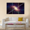 Scientific astronomical background Multi Panel Canvas Wall Art