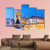 Zurich River along with the historic view of canvas wall art