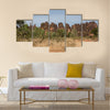 Sacred crocodile in Sabou, Burkina Faso, Africa Multi panel canvas wall art