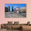 Potsdamer Platz in the afternoon multi panel canvas wall art