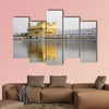 Harimandir Sahib swarn mandir or golden temple, Amritsar, Punjab, India multi panel canvas wall art