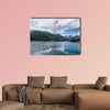 The mountain lake Sylvenstein Lake in Bavaria, Germany wall art
