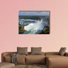 Horseshoe Falls in Niagara, aerial view Multi panel canvas wall art