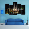 Brindavan Gardens, Mysore Multi panel canvas wall art