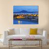 View Of the La Manga Del Mar Menor, Spain Multi Panel Canvas Wall Art Print Set