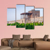 Morning time view of Ali Qapu Palace in Iran multi panel canvas wall art