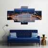 Budapest City View of Castle Hill and Castle Multi Panel Canvas Wall Art